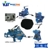 Резиновую подушку перерабатывающая установка режущей машины/перерабатывающая установка шин