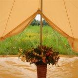 Tenda di Bell di lusso della tela di canapa del cotone di Glamping