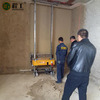 디지털 건축 박격포 기계를 회반죽 살포 장비 벽