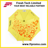 23 polegadas Auto Open Straight Umbrella para Custom
