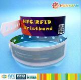 Faixa de pulso impermeável descartável clássica de MIFARE 1K RFID NFC