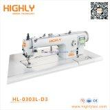 Hl-0303L-D3 long bras haut et bas informatisée d'alimentation Machine à coudre Lockstitch Heavy Duty