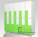Casier de stockage plein adapté aux besoins du client de sauna de casier de stockage compact de résine