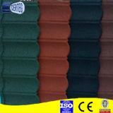 azulejo clásico revestido del azulejo de material para techos del metal de la arena colorida nuevo