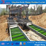 Trommel de lavagem do baixo ouro aluvial portátil da eficiência elevada da manutenção