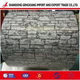 Bobine d'acier de couleur/plaque en acier galvanisé prélaqué/PPGI