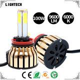 ÉPI Soucre de phare de véhicule de DEL l'usine avec le phare de la qualité DEL de Hight et le ballast de xénon CACHÉ par 45W (H3 H7 H11 H4 880 de 6000K H1 881 9006 9005)