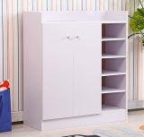 Moderner Wohnzimmer-Möbel-Ecken-Metallschuh-Schrank mit guter Qualität