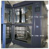Chambre froide chaude d'essai au choc de la température