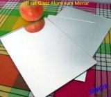 La Cina Waterproof 1.1mm a 6mm Silver Coated Float Glass Mirror, max Size 2440 x 3660mm