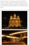 초록불 건물 정면 게시판 조각품 응용 LED 플러드 빛 10W-200W