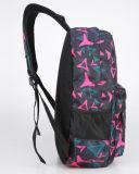 Personalização da trouxa do ombro do dobro do lazer do saco de escola camuflar dos estudantes cor-de-rosa da escola de X 1