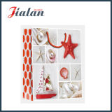Arte brillante del papel laminado estrellas de mar Compras Carrier bolsa de papel de regalo