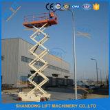 Elevador de tijera electro-hidráulico fabricado en China
