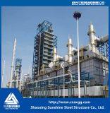 Buena calidad y estructura de acero barato para la fábrica de plantas de energía