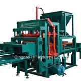 Bloque que se enclavija de Qt4-20 Hydraform que hace la máquina en Uganda