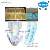 使い捨て可能な赤ん坊のおむつのための熱い溶解の接着剤