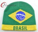 Плоские вышивкой из акрилового волокна популярных Beanie Red Hat