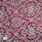 Jacquard antistatico Polyester Chenille Sofa Fabric per Home Textile