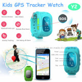 실시간 위치 Y2를 가진 휴대용 아이 또는 아이 GPS 추적자 시계