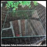 verre de flotteur clair carré de 4mm avec le bord droit