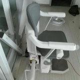 Levage incurvé électrique de portée de présidence d'escalier pour des handicapés