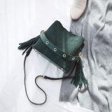 Zippered met de Decoratieve Handtas van Crossbody van de Manier van Wardware Pu (WDL0050)