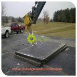 HDPEは軽量クレーン泥地のための一時道のマットを広げる