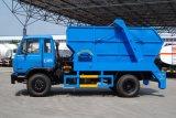 Sinotruk HOWO 4X2 caminhão de lixo do Braço Oscilante