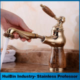 Robinet simple de bassin de salle de bains de récipient de traitement d'UPC de Chine