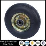 Rotella di gomma solida dello Spoke del bene durevole per il carrello ed il carrello 10X350-4