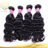 Aaaaaaaaのベストセラーの加工されていないバージンの人間の毛髪の拡張インド人の毛