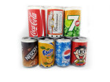 Mini Speaker Cans Coke Pepsi Fanta 7-up Zip-Top Speakers USB Portable Sound Box TF Card Speakers