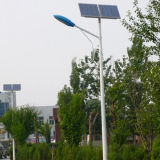 세륨 RoHS IP65 9m 50W Solar Street Light