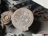 152mm круглое к коробке счетчика воды чугуна 432mm x 762mm дуктильной