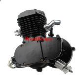 Colore del nero del kit del motore della bicicletta del colpo kit/2 80cc del kit 2 del motore della benzina del colpo 80cc del motore della bicicletta F80