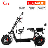1500W Electric Citicoco/Harley Scooter with Kids Children Seat