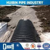 Using l'HDPE di molto tempo tubo rinforzato saldato attorcigliato