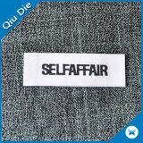 カスタム衣服または衣類ファブリックのためのロゴのブランドによって編まれるラベル