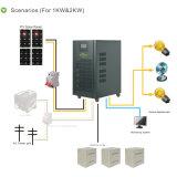 Système de stockage d'énergie solaire de K-Mémoire