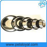 Accesorios para mascotas de la fábrica de acero inoxidable baratos alimentador Pet Dog Bowl