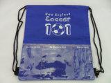 Un sac de nylon plié de promotion personnalisée