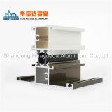 Perfil de aluminio de la protuberancia del perfil de aluminio para Windows de desplazamiento doble