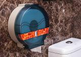 De plastic JumboAutomaat van het Toiletpapier met Transparante Groene Inkt (kW-519)