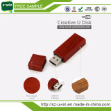 Mecanismo impulsor de madera vendedor caliente del flash del USB (Uwin-146)