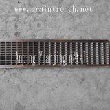 Rejilla de acero inoxidable de alta calidad para la zanja de drenaje