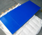 100% лист девственницы Nylon, PA6 лист, пластичный лист с голубым цветом