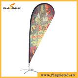 bandierina di alluminio del Teardrop di stampa di Digitahi di promozione di evento di 2.8m/bandierina di volo