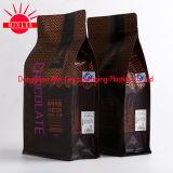 Zak de van uitstekende kwaliteit van Guesset van Acht Kanten voor de Verpakkende Zak van de Koffie