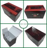 Première caisse d'emballage de carton de repli pour la vente en gros